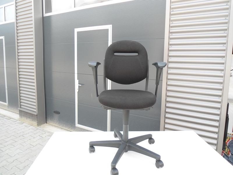 Ahrend 220 Bureaustoel Zwart.Ahrend 220 Bureaustoel Zwart Trepiedi